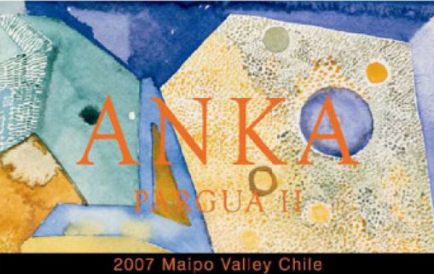 Anka Pargua II 2007 Front Label