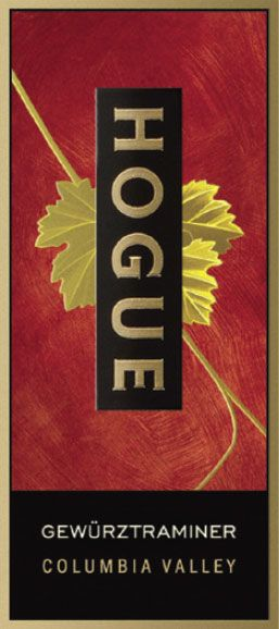 Hogue Gewurztraminer 2009 Front Label