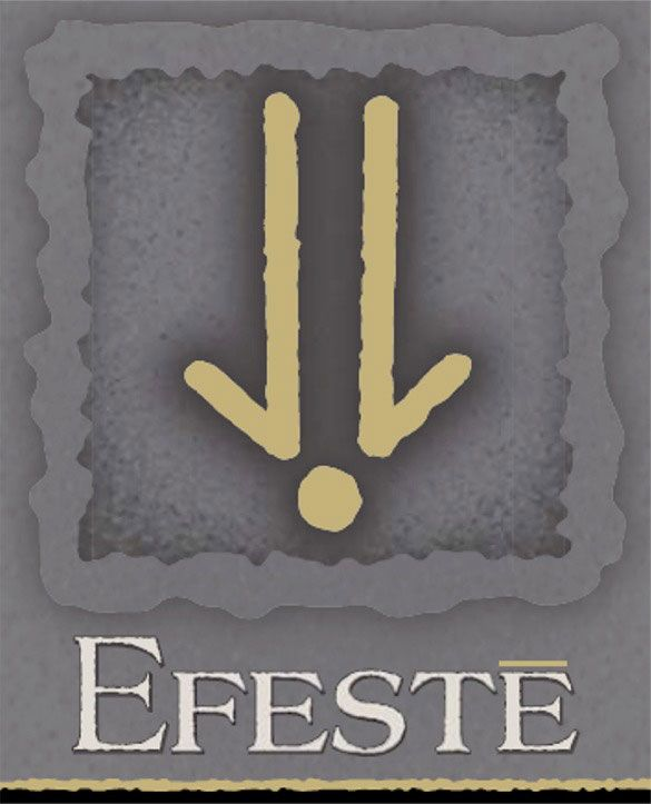Efeste Syrah Red Mountain Ceidleigh 2008 Front Label