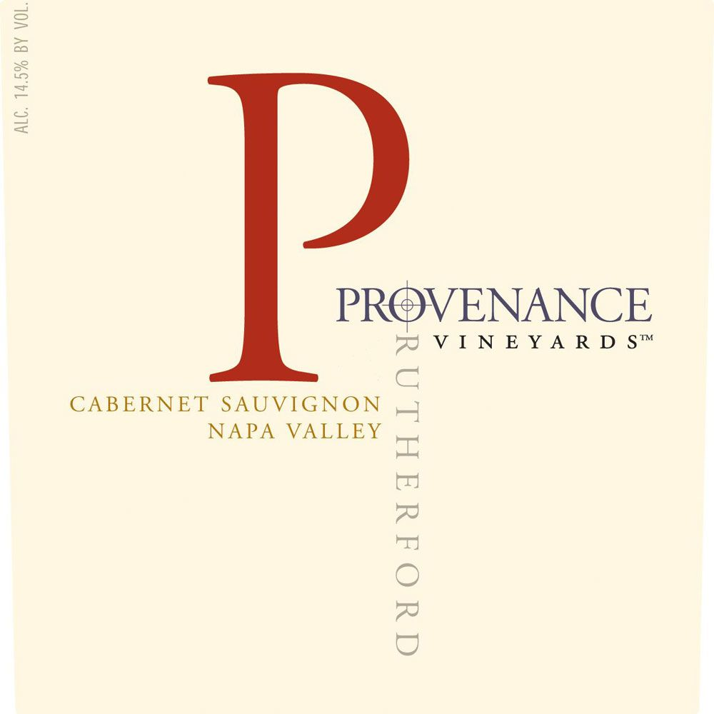 Provenance Vineyards Rutherford Cabernet Sauvignon 2007 Front Label