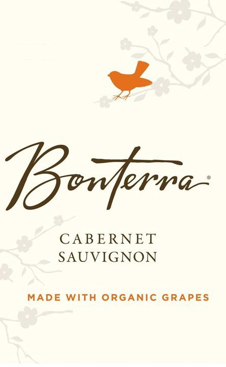 Bonterra Organically Grown Cabernet Sauvignon 2009 Front Label