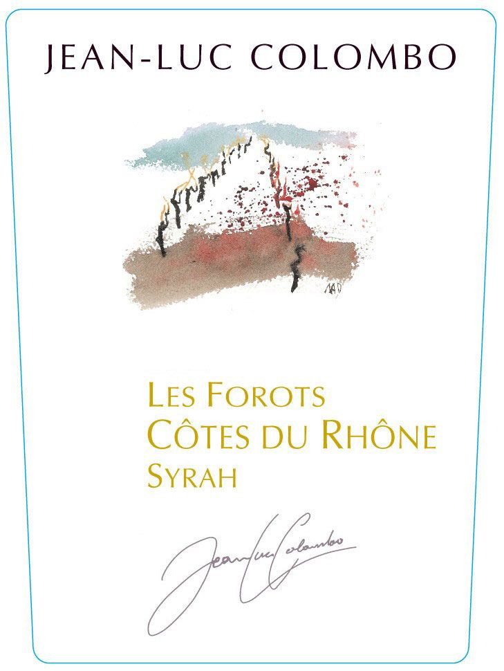 Fontodi Syrah Case Via 2006 Front Label
