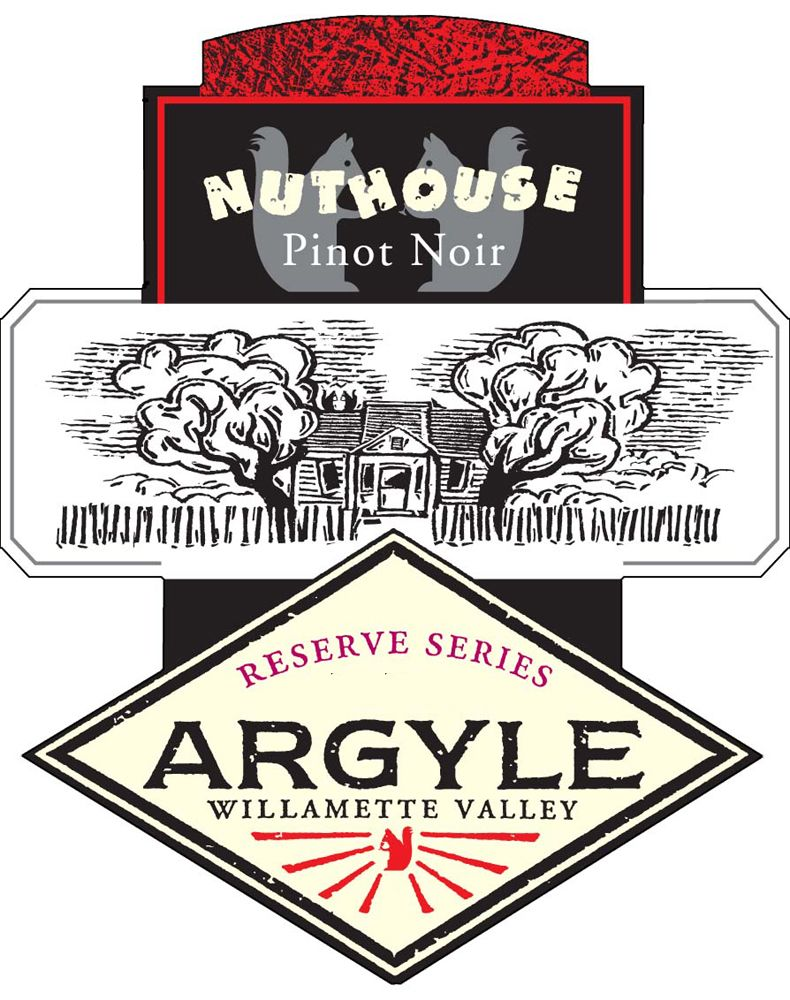 Argyle Nuthouse Pinot Noir 2008 Front Label