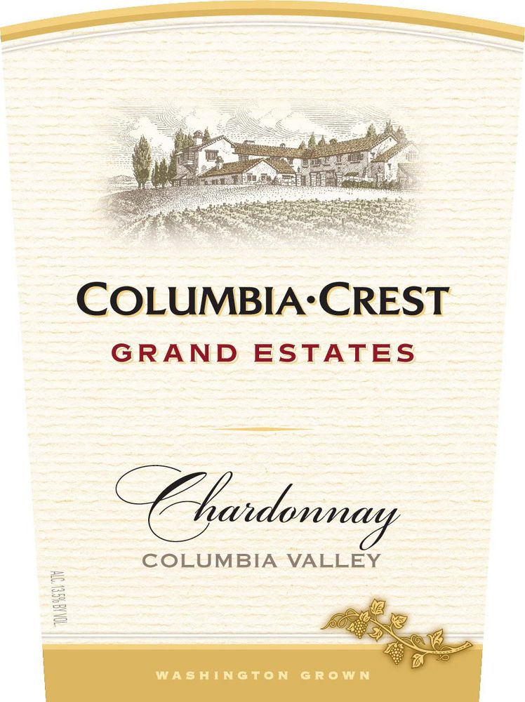 Columbia Crest Grand Estates Chardonnay 2009 Front Label