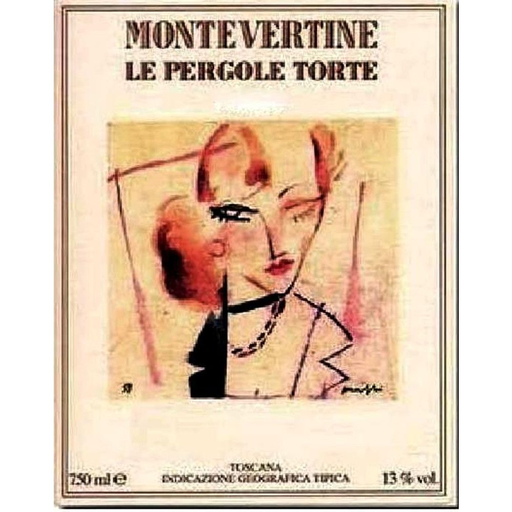 Montevertine Le Pergole Torte 2006 Front Label