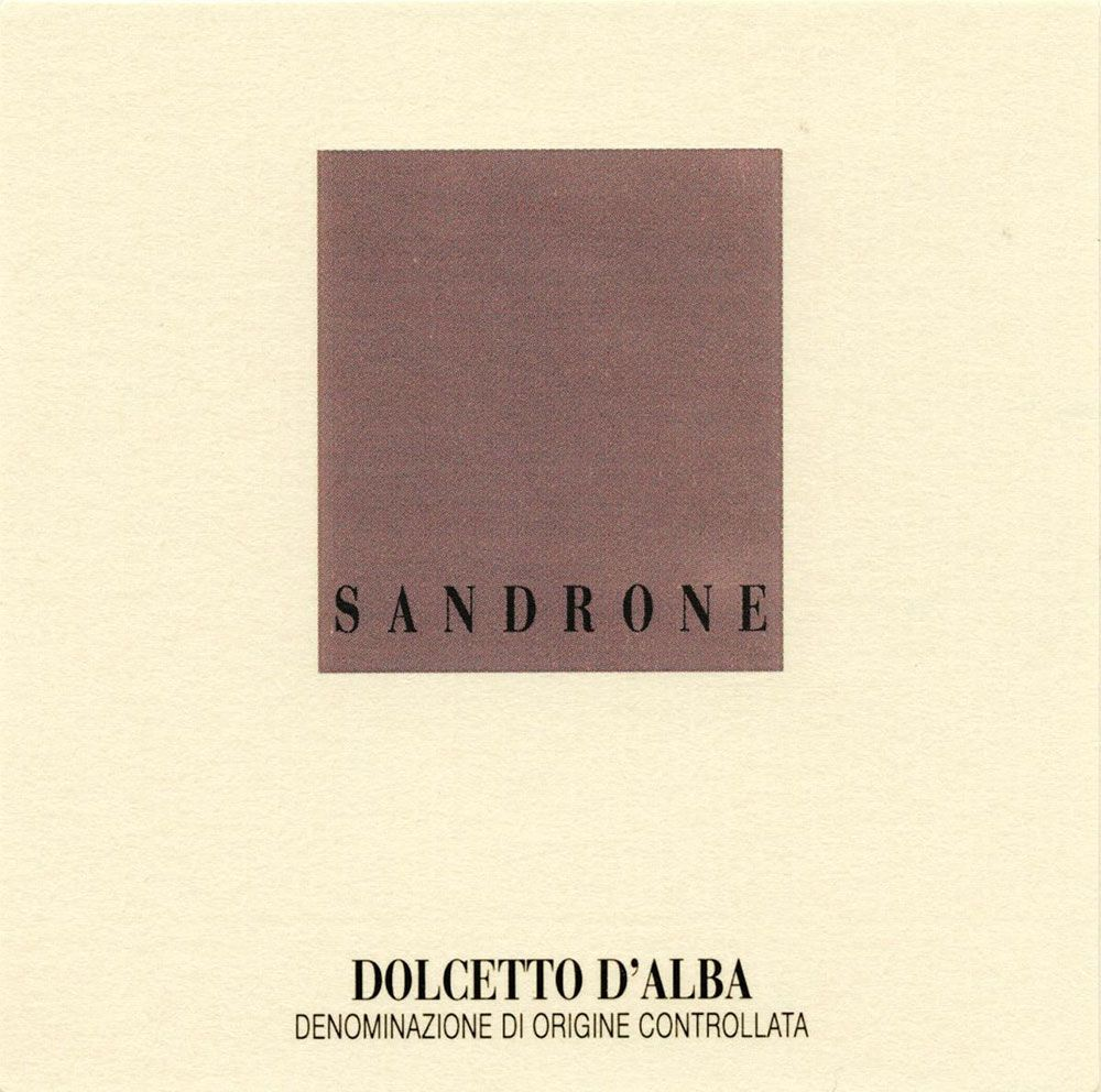 Sandrone Dolcetto d'Alba 2009 Front Label