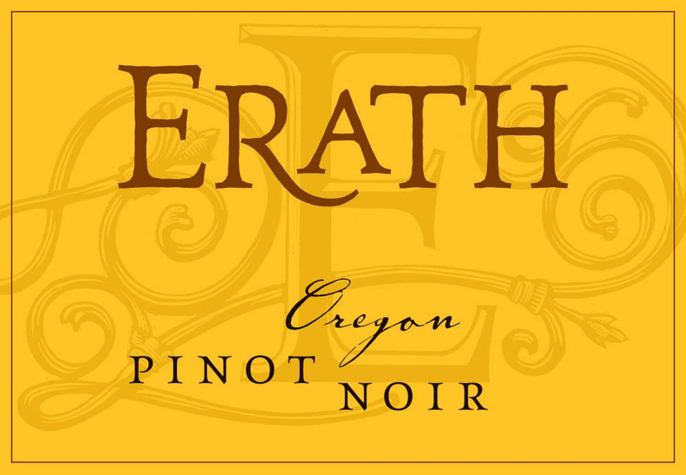 Erath Pinot Noir 2009 Front Label