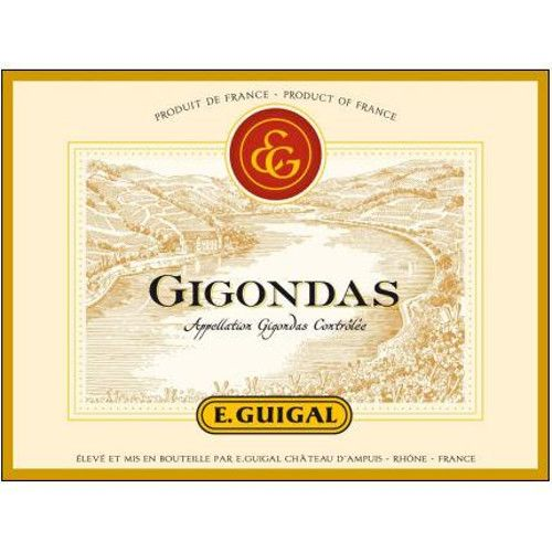 Guigal Gigondas Rouge 2007 Front Label