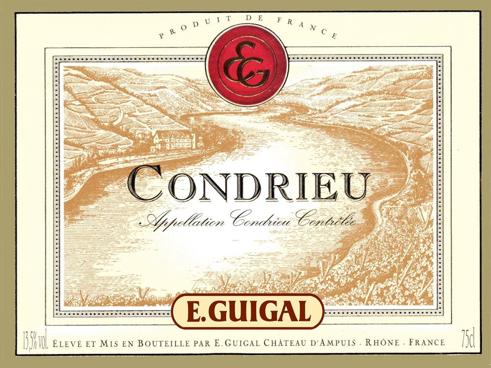 Guigal Condrieu 2009 Front Label