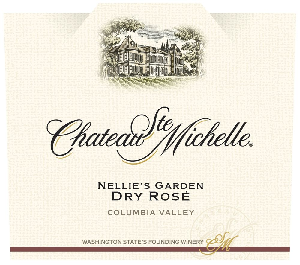 Chateau Ste. Michelle Neillie's Garden Dry Rose 2009 Front Label