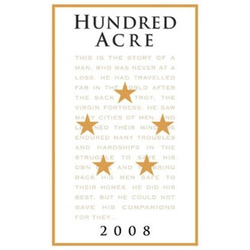 Hundred Acre Ark Vineyard Cabernet Sauvignon 2008 Front Label