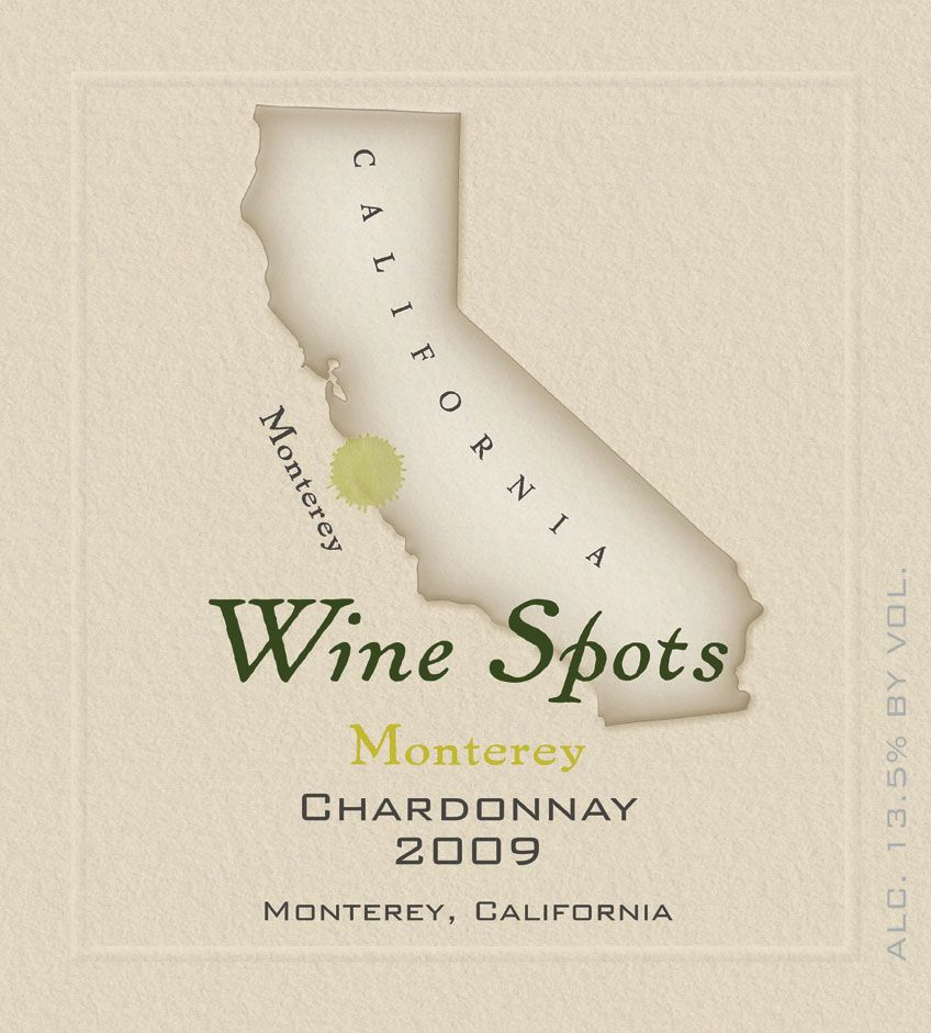 Wine Spots Monterey Chardonnay 2009 Front Label