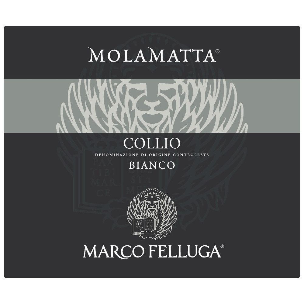 Marco Felluga Collio Molamatta 2009 Front Label