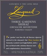 Langmeil Three Gardens SMG 2009 Front Label