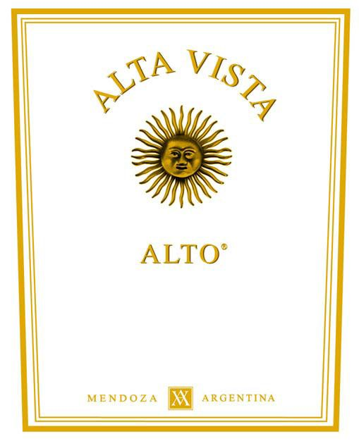 Alta Vista Alto 2006 Front Label