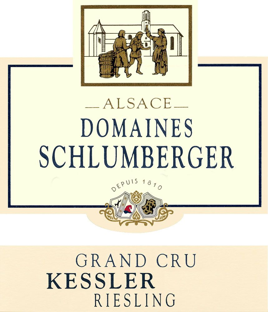 Domaines Schlumberger Kessler Grand Cru Riesling 2007 Front Label