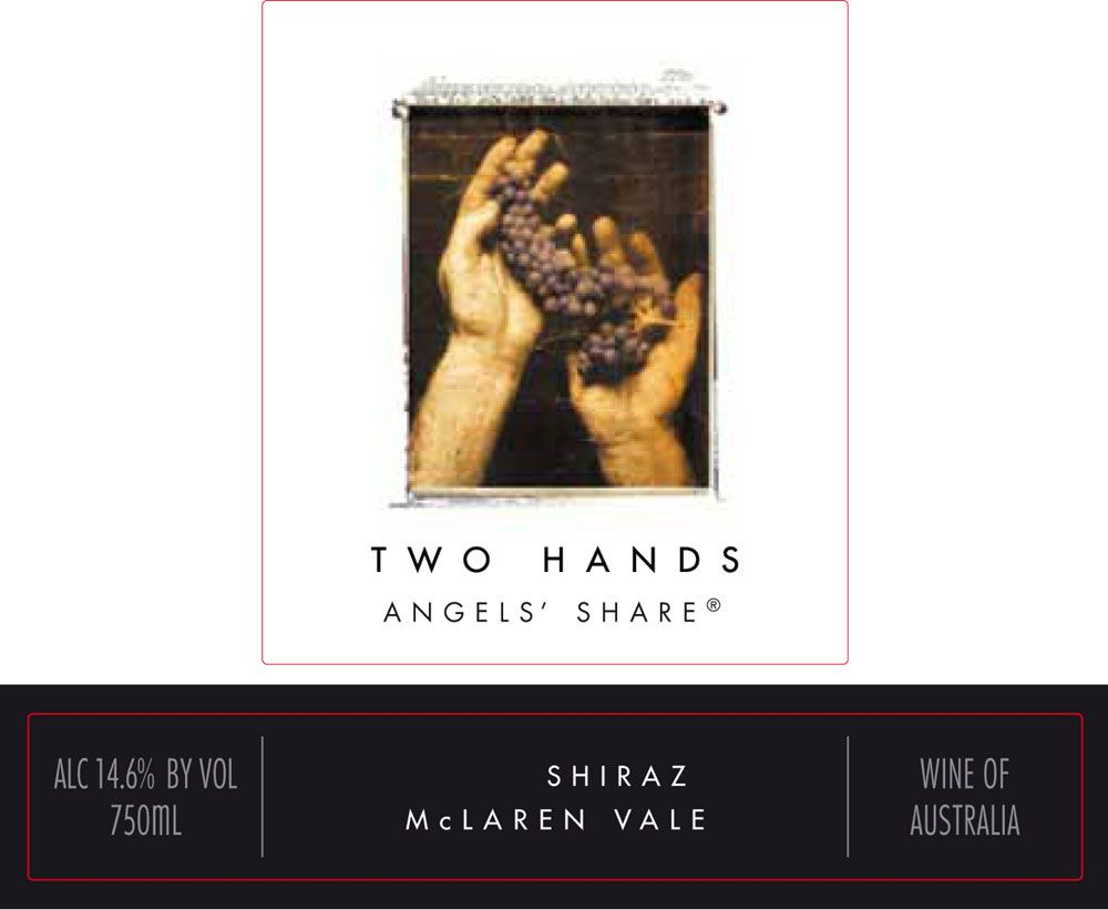 Two Hands Angels' Share Shiraz 2009 Front Label