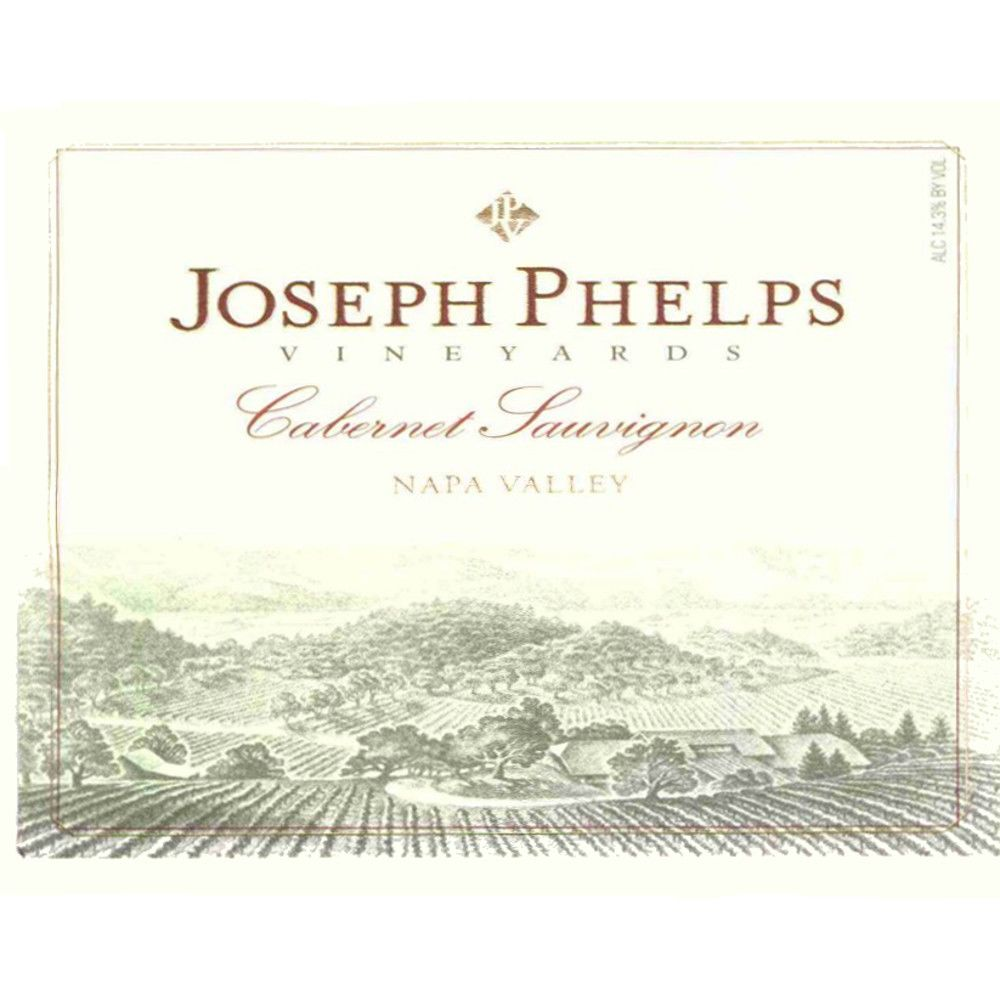 Joseph Phelps Cabernet Sauvignon (375ML half-bottle) 2007 Front Label