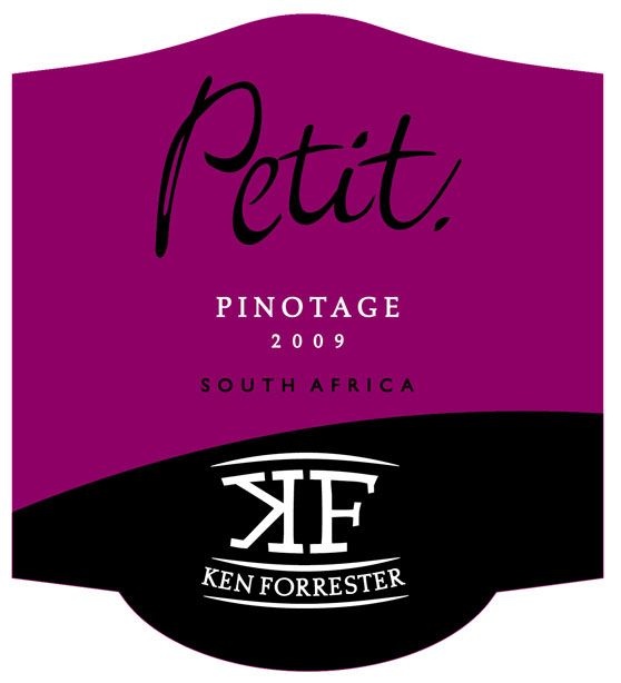 Ken Forrester Petit Pinotage 2009 Front Label