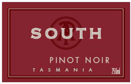 Pirie Tasmania South Pinot Noir 2008 Front Label