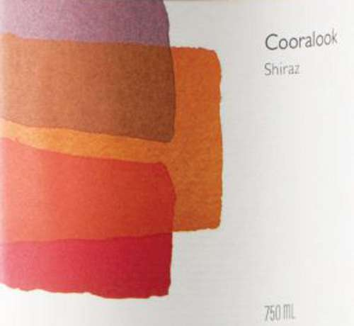 Cooralook Shiraz 2008 Front Label