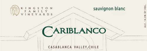 Kingston Family Cariblanco Sauvignon Blanc 2008 Front Label
