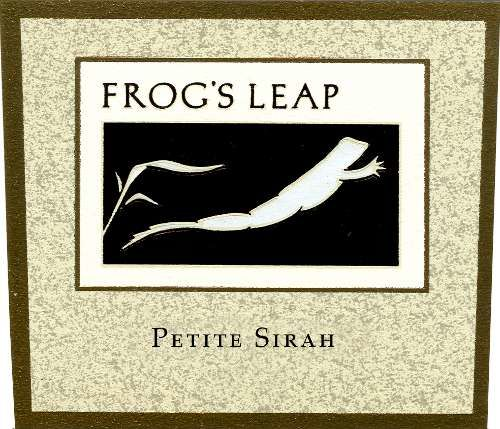 Frog's Leap Petite Sirah 2008 Front Label