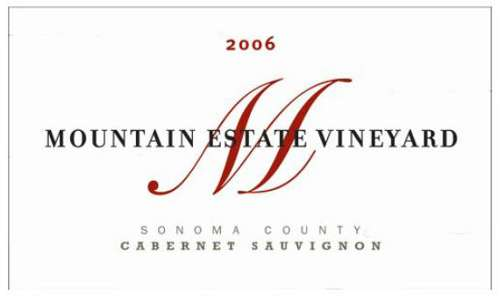 Fisher Vineyards Mountain Estate Cabernet Sauvignon 2006 Front Label