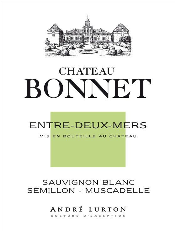 Chateau Bonnet Blanc 2010 Front Label