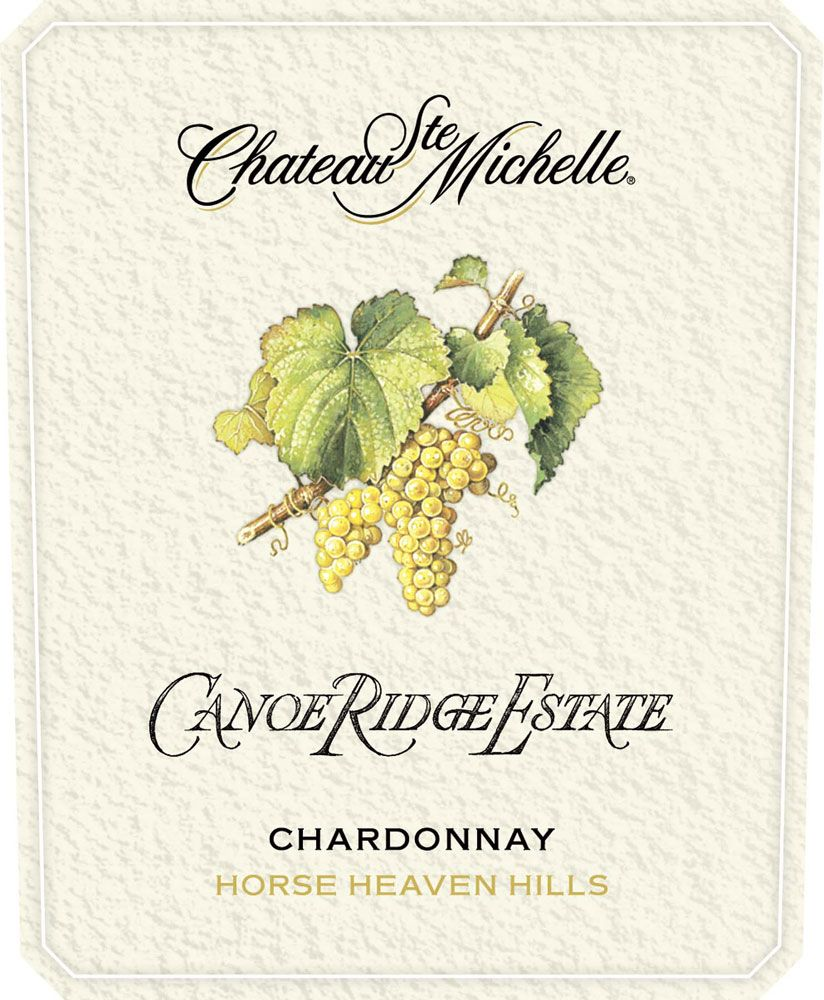 Chateau Ste. Michelle Canoe Ridge Estate Vineyard Chardonnay 2008 Front Label