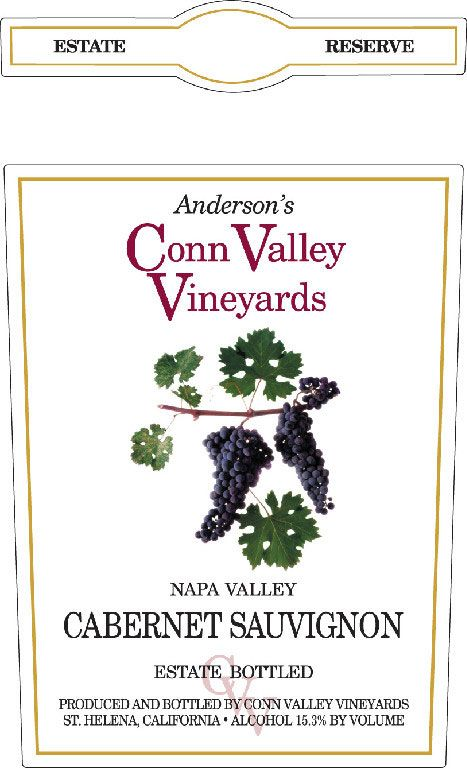 Anderson's Conn Valley Vineyards Cabernet Sauvignon Reserve (1.5 Liter Magnum) 2008 Front Label