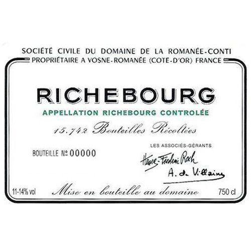 Domaine de la Romanee-Conti Richebourg Grand Cru 2008 Front Label