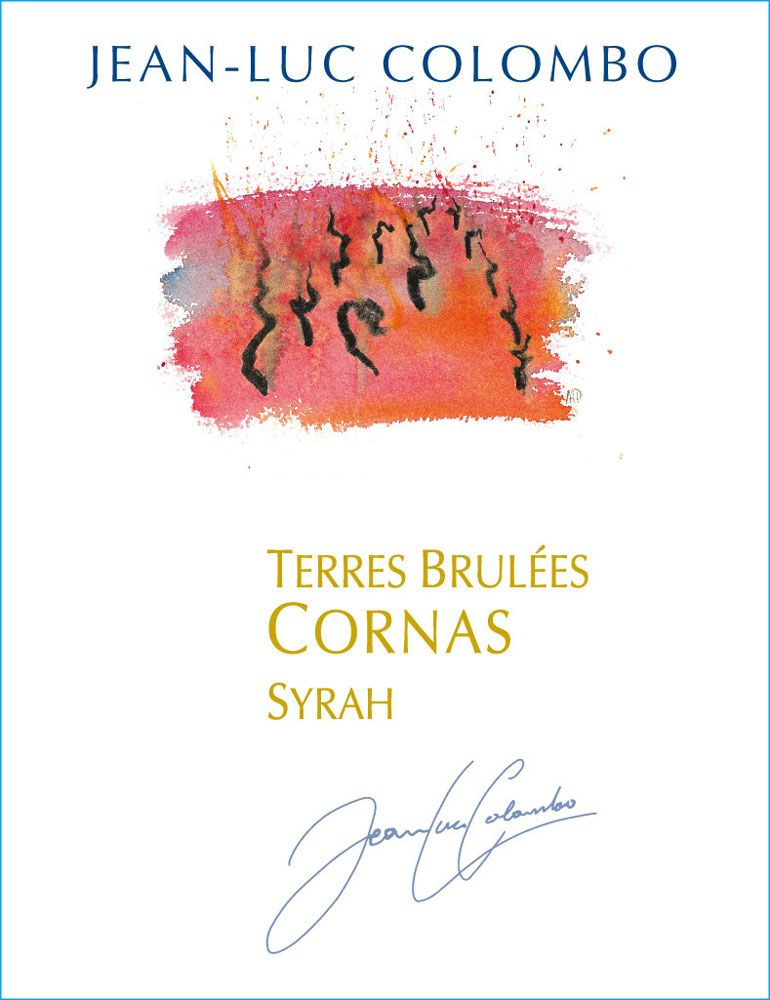 Jean-Luc Colombo Cornas Les Terres Brulees 2008 Front Label