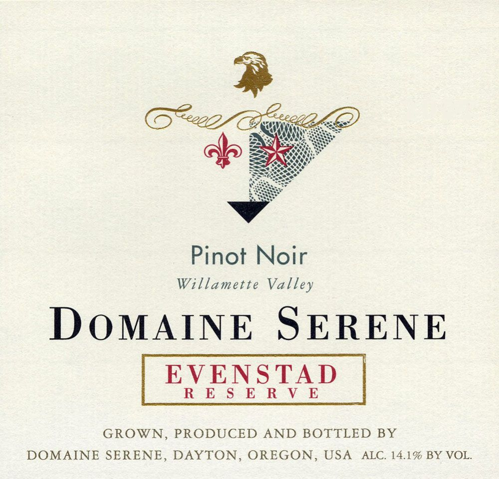 Domaine Serene Evenstad Reserve Pinot Noir 2007 Front Label