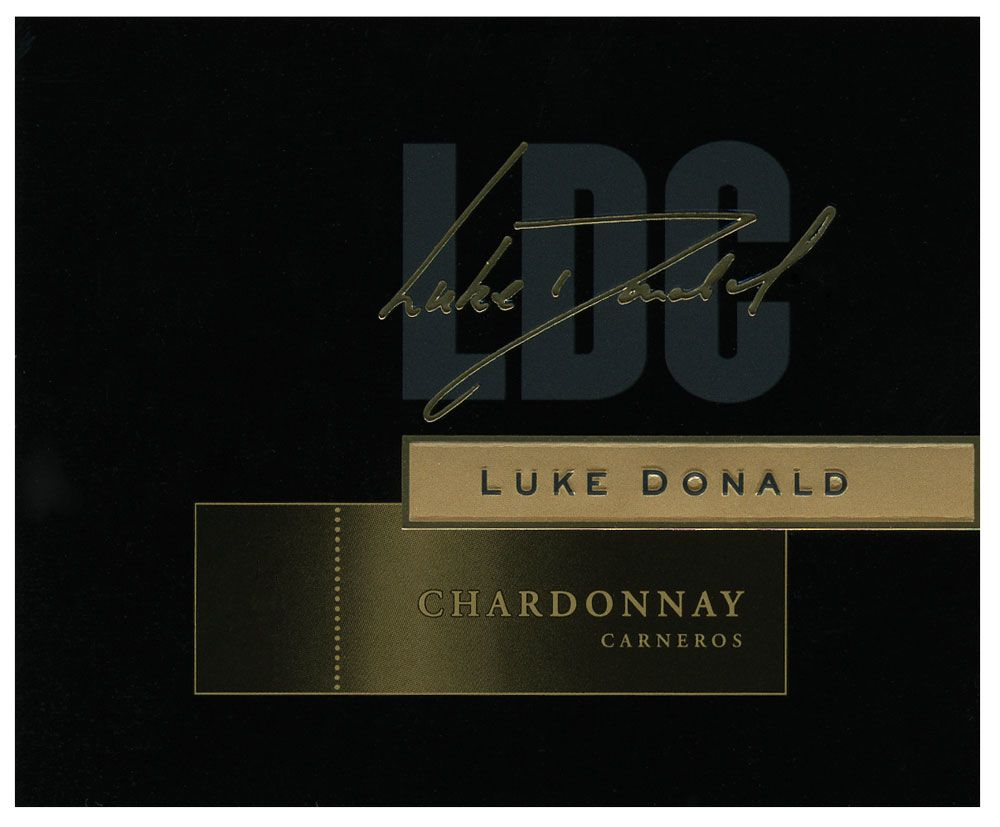 Luke Donald Collection Chardonnay 2008 Front Label