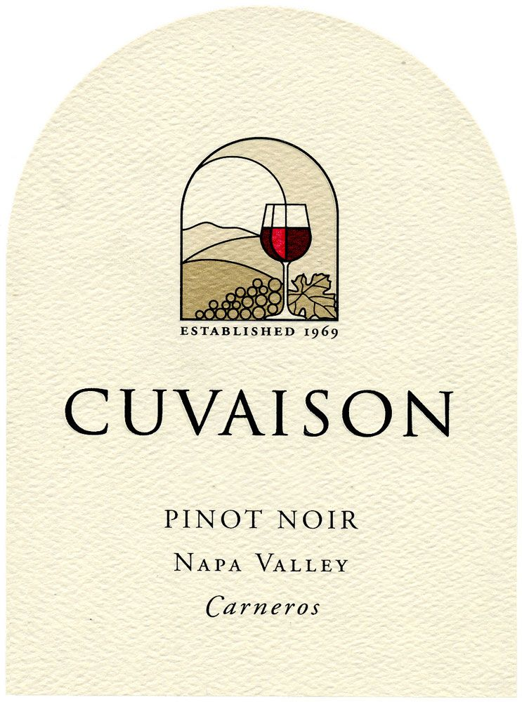 Cuvaison Pinot Noir (375ML half-bottle) 2009 Front Label
