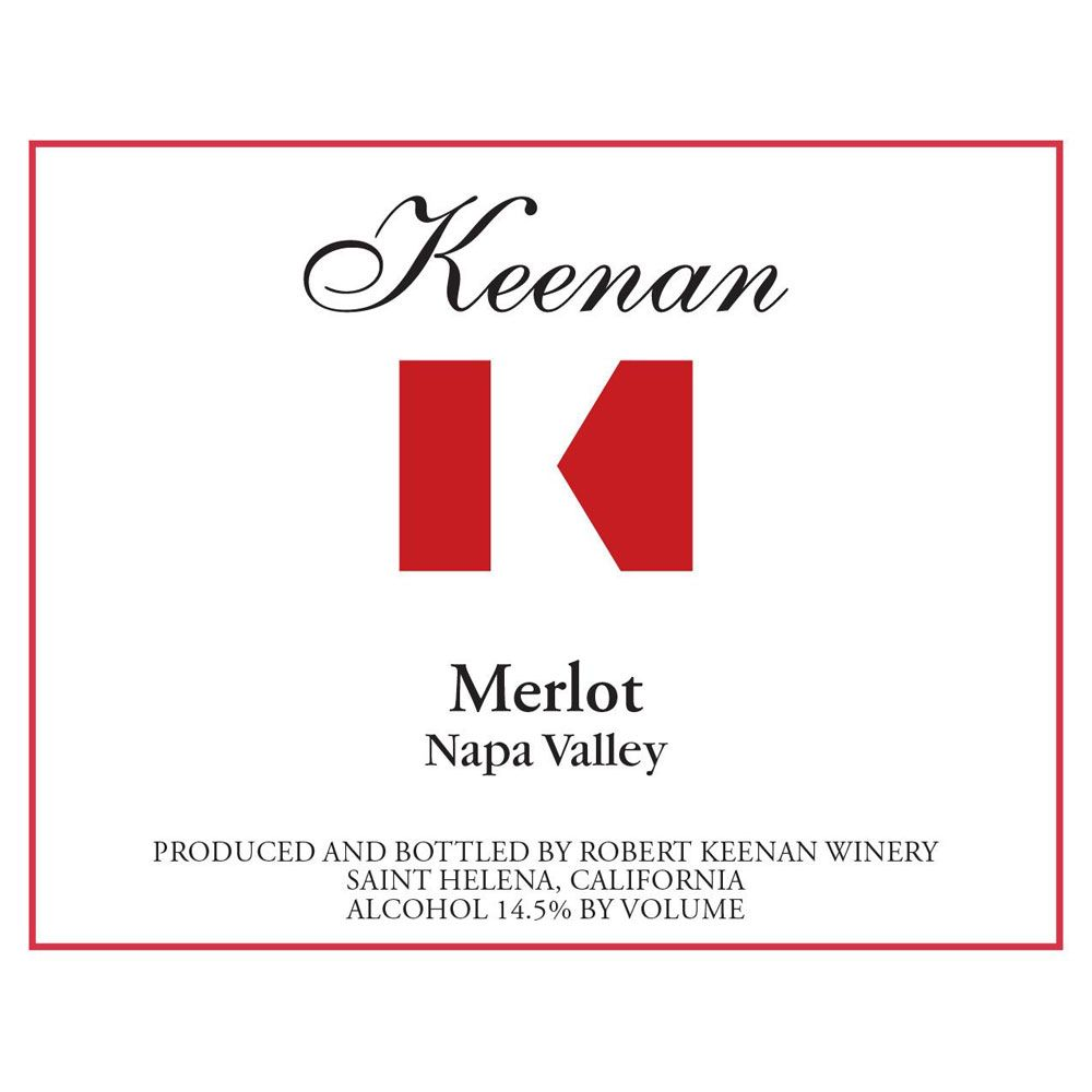 Keenan Napa Valley Merlot 2007 Front Label