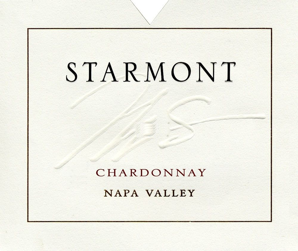 Starmont Chardonnay 2009 Front Label