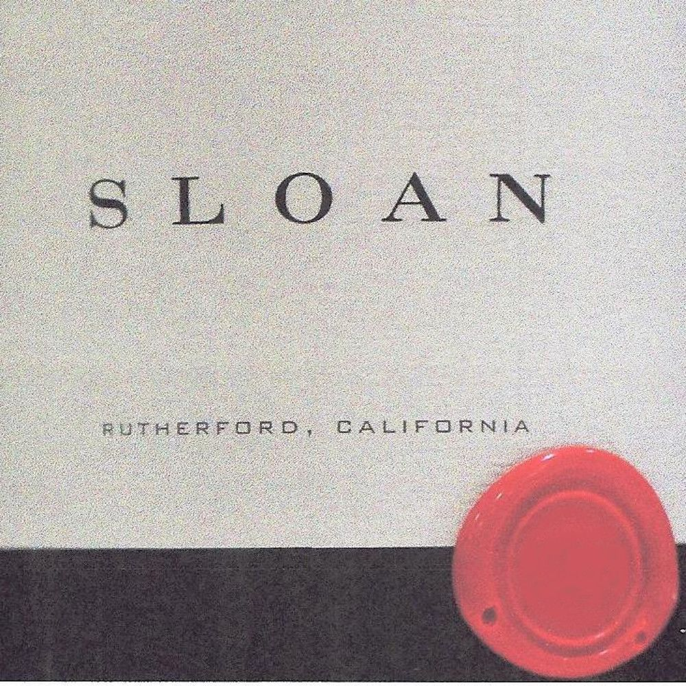 Sloan Proprietary Red 2006 Front Label