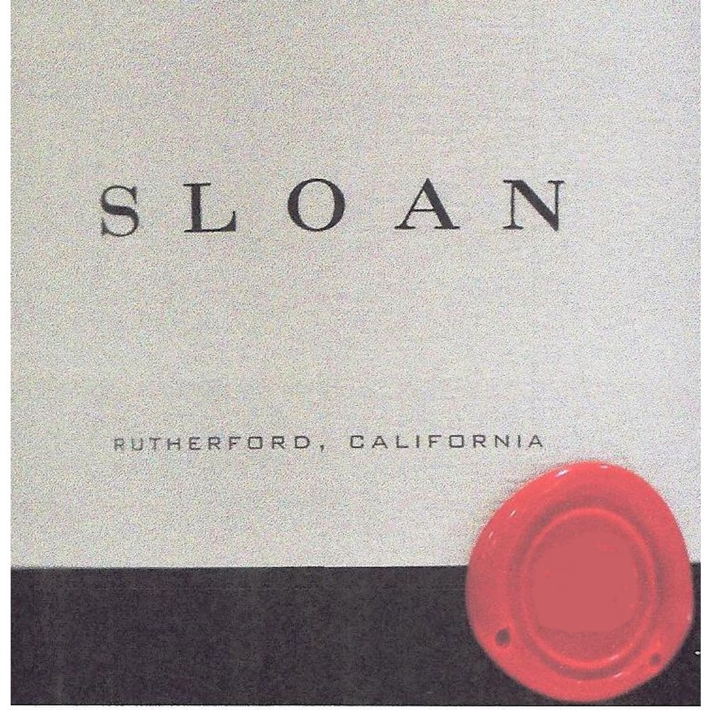 Sloan Proprietary Red 2007 Front Label
