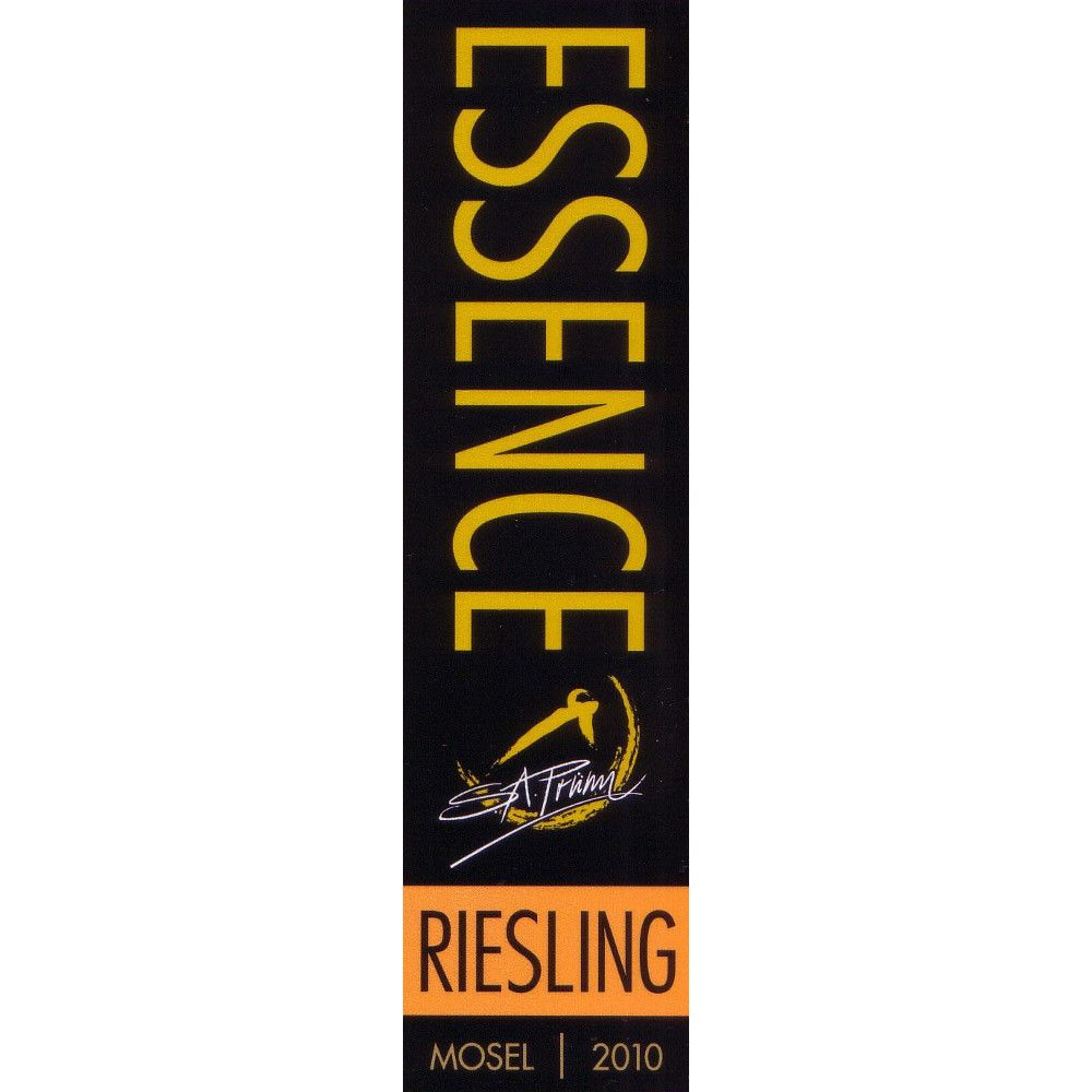 S.A. Prum Essence Riesling 2010 Front Label