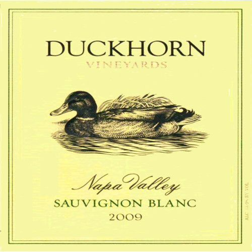 Duckhorn Sauvignon Blanc (375ML half-bottle) 2009 Front Label