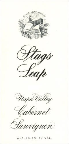 Stags' Leap Winery Cabernet Sauvignon (375ML half-bottle) 2007 Front Label
