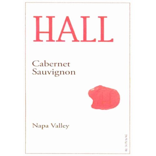 Hall Napa Valley Cabernet Sauvignon (375ML half-bottle) 2007 Front Label