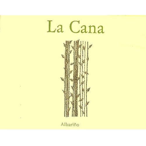 La Cana Albarino (375ML half-bottle) 2009 Front Label