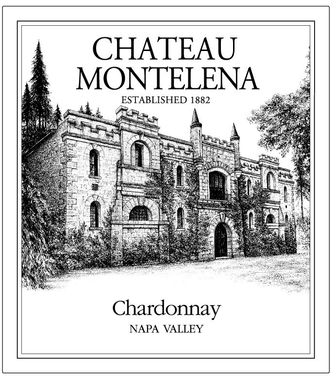 Chateau Montelena Napa Valley Chardonnay (375ML half-bottle) 2008 Front Label