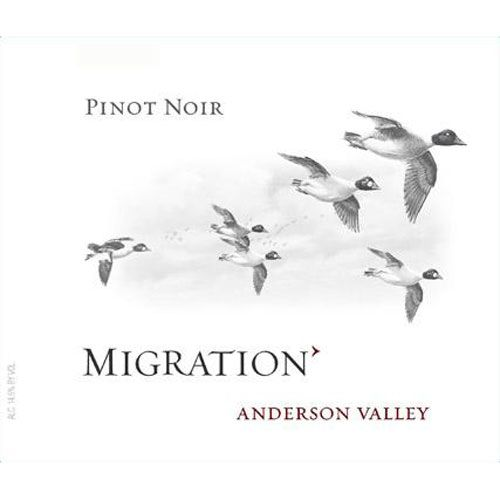 Migration Anderson Valley Pinot Noir (375ML half-bottle) 2008 Front Label