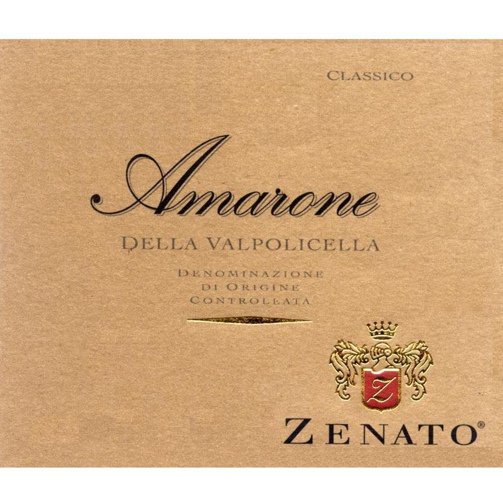 Zenato Amarone (375ML half-bottle) 2005 Front Label