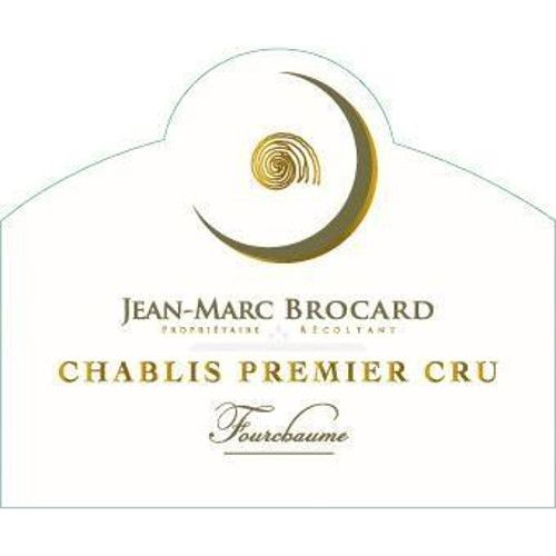 Brocard Fourchaumes Chablis (375ML half-bottle) 2008 Front Label