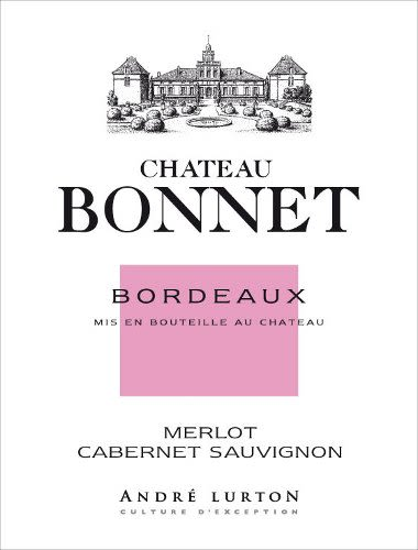 Chateau Bonnet Rose 2010 Front Label